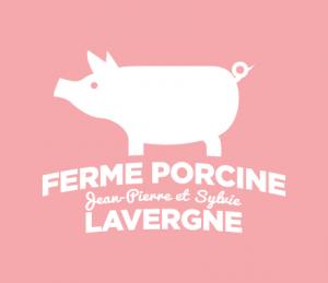 Logo - Ferme porcine Lavergne | Hot Dog Trio