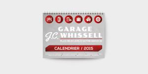 Calendrier - Garage Whissell   Hot Dog Trio